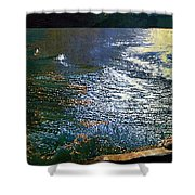Moonlight On The Mississippi Shower Curtain