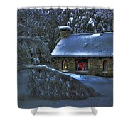 Moonlight On The Stonehouse Shower Curtain