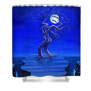 Moonlight Passion Shower Curtain