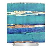 Moonlight Sea Shower Curtain