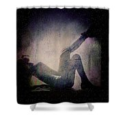 Moonlight Tanning Shower Curtain