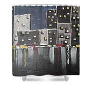 Moonlighters Shower Curtain