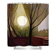 Moonlit Dream Shower Curtain