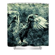 Moonlit Owl Shower Curtain