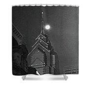 Moonlit View Shower Curtain