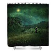 Moonloop Shower Curtain