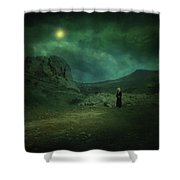 Moonloop Shower Curtain