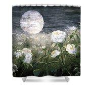 Moonpoppies Shower Curtain