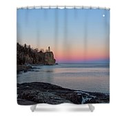 Moonrise Glow Shower Curtain