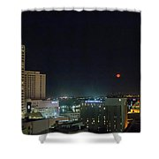 Moonrise Over New Orleans Shower Curtain