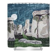 Moonrise Salisbury Shower Curtain