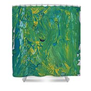 Moons In Galaxy Supernova 1987a Shower Curtain