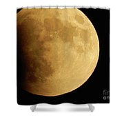 Moonscape Shower Curtain