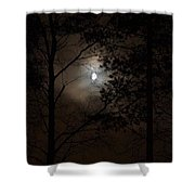 Moonshine 01 Shower Curtain