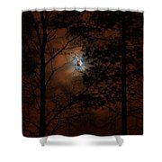 Moonshine 04 Bad Moon Rising Shower Curtain