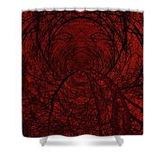 Moonshine 18 Shout Shower Curtain
