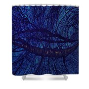 Moonshine 19 Space Shower Curtain