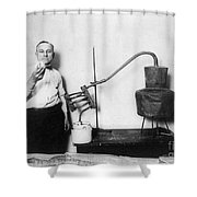 Moonshine Distillery, 1920s Shower Curtain