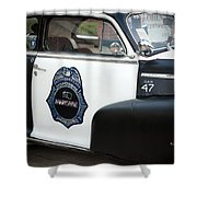 Moonshine Patrol Shower Curtain