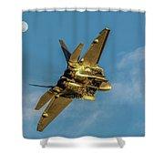 Moonshine Raptor  Shower Curtain