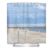 Moonstone Beach Shower Curtain