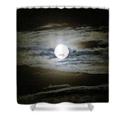 Moonstruck Shower Curtain