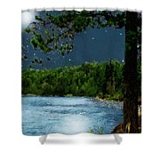 Moonstruck 'my Starry Night' Shower Curtain