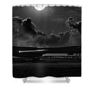 Moonstruck Shower Curtain