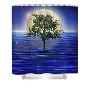 Moontree Shower Curtain