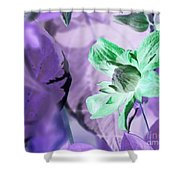Moonwalk Clematis Shower Curtain
