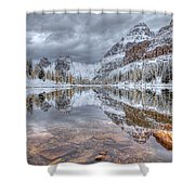 Moor Lake Shower Curtain
