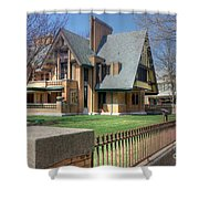 Moore-dugal House Shower Curtain