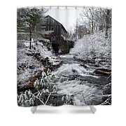 Moore State Park 4 Shower Curtain
