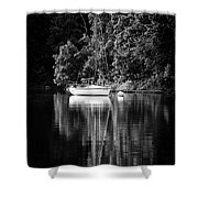 Moored 2 Shower Curtain
