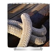 Mooring Rope Shower Curtain