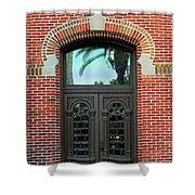 Moorish Door Shower Curtain