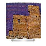 Moorish Fort In Jumilla Shower Curtain