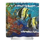 Moorish Idols Shower Curtain