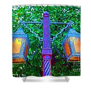 Moorish Lantern Shower Curtain