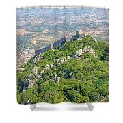 Moors Castle Aerial Shower Curtain
