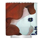Mopart Lady Shower Curtain
