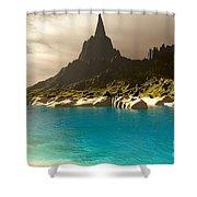Mora Seascape Shower Curtain