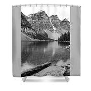 Moraine Lake II Shower Curtain