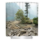 Moraine Shores Shower Curtain