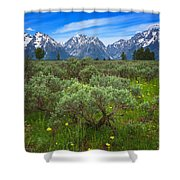 Moran Meadows Shower Curtain
