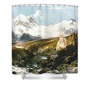 Moran: Teton Range, 1897 Shower Curtain