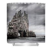 Mordor Shower Curtain by Evgeni Dinev