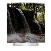 More Bars Shower Curtain