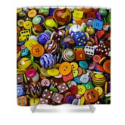 More Beautiful Marbles Shower Curtain