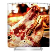 More Eggs More Toast Please Shower Curtain